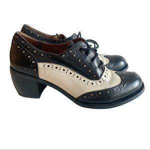 Miz Mooz Nash Heel Shoes Oxford 6.5